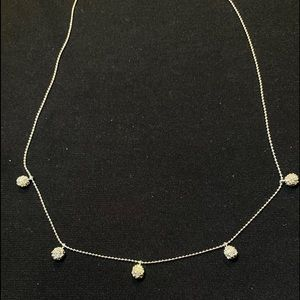 NWT Nadri pave crystal necklace
